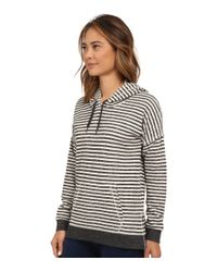 Volcom | Black Lived In Stripe Pullover | Lyst