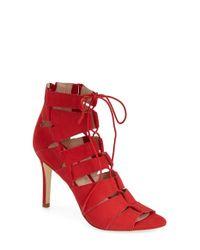Loeffler Randall | Red 'lotti' Sandal | Lyst
