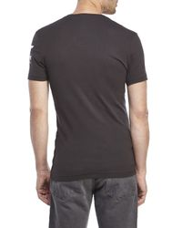 G-Star RAW - Gray Inigo V-Neck Tee for Men - Lyst
