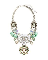 H&M - Metallic Sparkly Necklace - Lyst