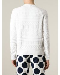 KENZO - White 'Statue Of Liberty' Sweater for Men - Lyst