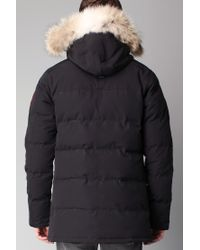 Canada Goose - Black Parka for Men - Lyst