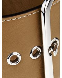 Givenchy - Brown Buckle Leather Bracelet - Lyst