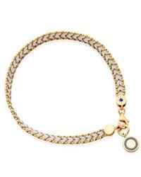Astley Clarke | White Thundercloud Cosmos Friendship Bracelet | Lyst