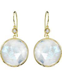 Irene Neuwirth - Metallic Gemstone Double-drop Earrings - Lyst