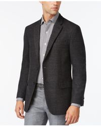 Tommy Hilfiger | Gray Neat Soft Classic-fit Jacket for Men | Lyst