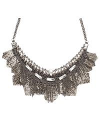 Deepa Gurnani | Gray Nimah Necklace | Lyst