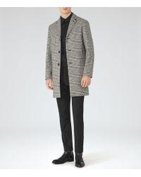 Reiss - Black Bepe Slim-fit Shirt for Men - Lyst