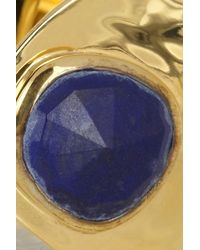 Monica Vinader - Blue Siren Goldplated Cuff - Lyst