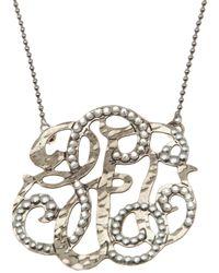 Gas Bijoux - Metallic Arabesque Necklace - Lyst