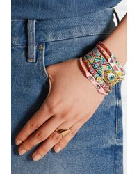 Finds | Blue + Susan Alexandra Pineapple Watermelon Crystal-Embellished Cuff | Lyst