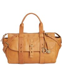 Lucky Brand | Brown Medine Leather Crossbody Satchel | Lyst