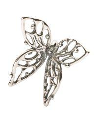 Trollbeads | Metallic Big Butterfly Charm | Lyst