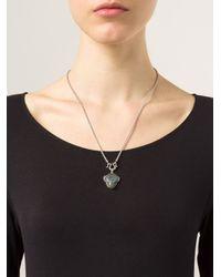 Vivienne Westwood - Metallic 'Ryan' Monkey Pendant Necklace - Lyst