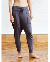 Free People | Gray Right On Pant Battu Cover Up | Lyst