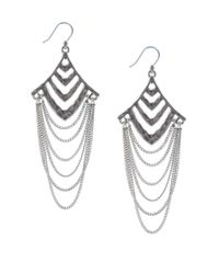 Lucky Brand | Metallic Chandelier Multi Layer Drop Earrings | Lyst