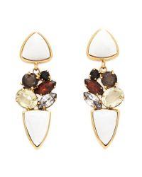 Lizzie Fortunato - Multicolor Geometric Earrings - Lyst