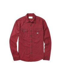 Denim & Supply Ralph Lauren - Red Ward Plaid Cotton Workshirt for Men - Lyst