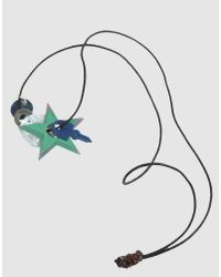 Stefania Pia - White Necklace - Lyst
