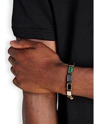 Nialaya | Black Beaded Cord Bracelet for Men | Lyst
