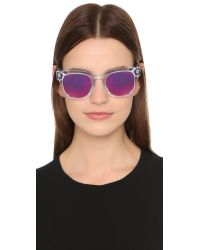 Thierry Lasry - Multicolor Garrett Leight X Sunglasses - Lyst