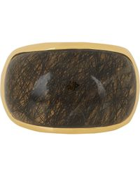 Maiyet - Brown Signature Sculpt Ring - Lyst