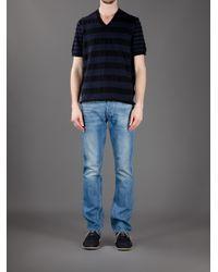 Acne   Blue Dalton T-Shirt for Men   Lyst