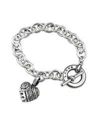 Lagos | Metallic 'hearts Of ' Charm Bracelet - Heart Of New York | Lyst