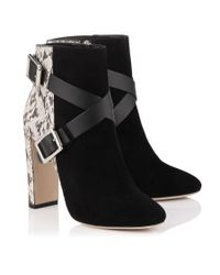Jimmy Choo | Black Dee 100 | Lyst