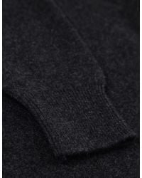 Jules B - Gray Crew Neck Lambswool Sweater for Men - Lyst