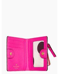kate spade new york | Pink Cedar Street Small Stacy | Lyst