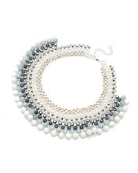 Nakamol - Multicolor Mani Necklace-white Mix - Lyst