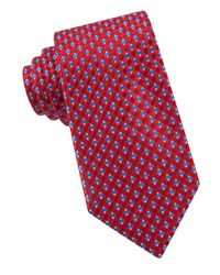 MICHAEL Michael Kors | Red Silk Patterned Tie for Men | Lyst