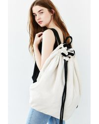 Urban Outfitters - Natural Uo Canvas Laundry Backpack - Lyst