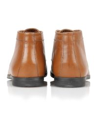 Frank Wright - Brown Reid Mens Lace-up Boots for Men - Lyst