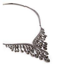 Atelier Swarovski - Gray 'swift' Large Swarovski Crystal Choker Necklace - Lyst