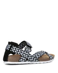 Lord & Taylor - Black Wialla Printed Sandals - Lyst