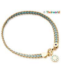 Biography - Blue Theirworld Charity Bracelet - Lyst