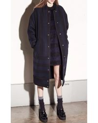 N°21 - Blue Flamina Sweater Dress - Lyst