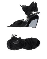 Miss Sixty - Black Sandals - Lyst