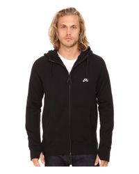 Nike | Black Sb Everett Graphic Full Zip Hoodie for Men | Lyst