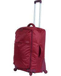 Lipault - Red Original Plume Four-wheel Suitcase 65cm for Men - Lyst