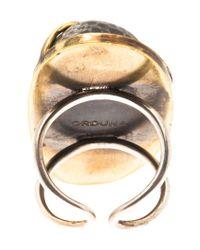 Beth Orduna | Metallic Stone Ring | Lyst