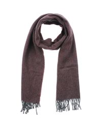 Jil Sander - Purple Oblong Scarf for Men - Lyst