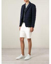 Moncler - Blue 'Amede' Padded Jacket for Men - Lyst