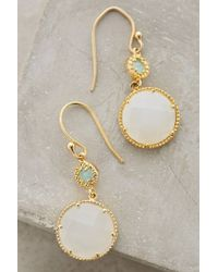 Anthropologie - Green Marchmont Drops - Lyst