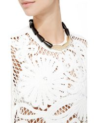 Vhernier - Black Calla Ebony Rose Gold Necklace - Lyst
