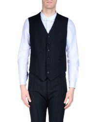 Boglioli - Gray Three-Piece Wool Suit for Men - Lyst