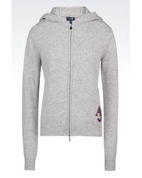 Armani Jeans | Gray Jersey Jumper | Lyst