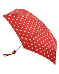 Cath Kidston | Purple Tiny Button Spot Umbrella | Lyst